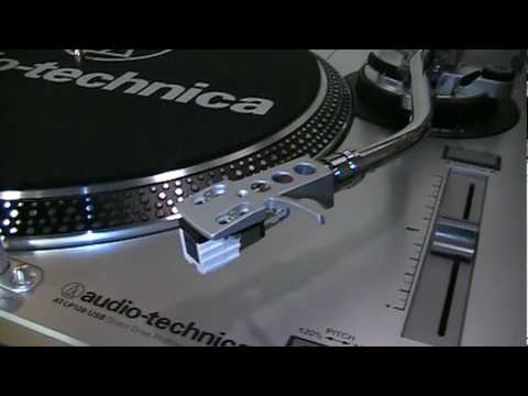 Audio-Technica AT-LP120 USB turntable review & test