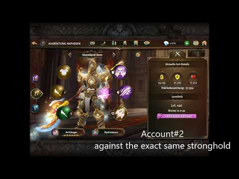 Account Damage Discrepancy