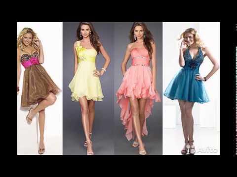 Модные выпускные платья 2016 года