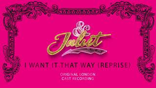 Oliver Tompsett, Cassidy Janson, Miriam-Teak Lee, Jordan Luke Gage – I Want It That Way (Reprise)
