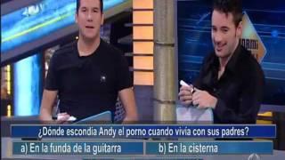 ANDY Y LUCAS - El Hormiguero - Andy y Lucas se examinan el uno al otro
