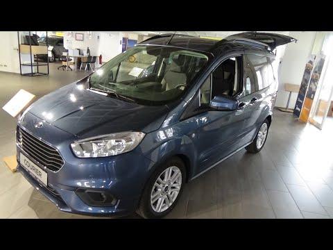 2021 Ford Tourneo Courier Titanium 1.5 TDCi 100 - Exterior and Interior - Autohaus Epple Rutesheim
