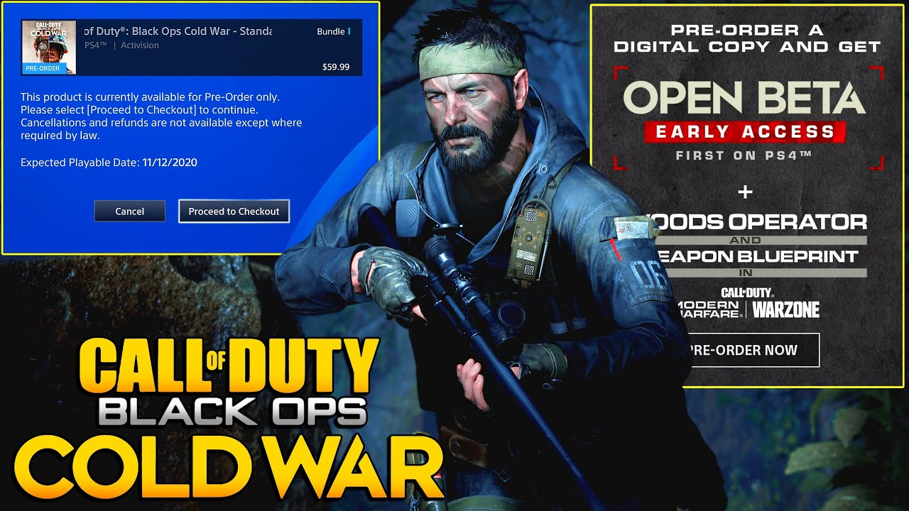 How To Play Black Ops Cold War Early Which Version Should You Buy Codbocw News Jgod Youtube