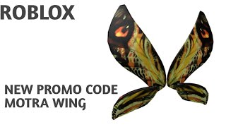 ' NEW PROMOCODE ' HOW TO GET MOTRA WING IN ROBLOX