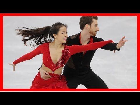 Whoops! Wardrobe malfunction mars Olympic debut for ice dancers