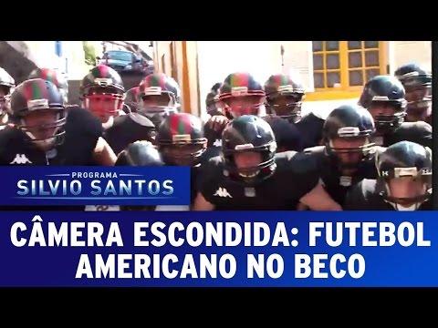 Câmeras Escondidas (14/02/16) – Futebol Americano no Beco