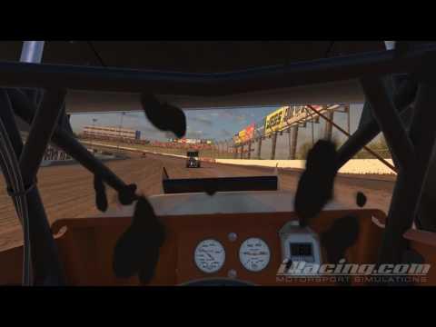 iRacing Dirt 305 Sprint Eldora Speedway Third Race