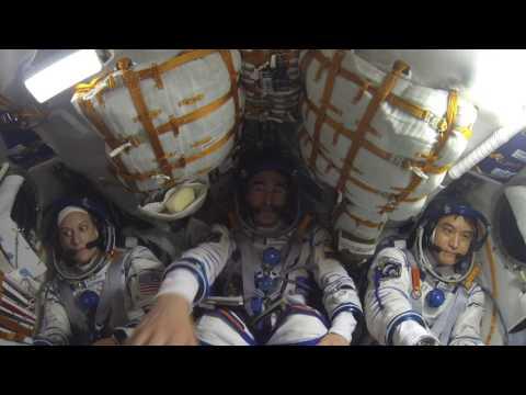 大西宇宙飛行士 ソユーズMS-01宇宙船(47S)船内映像 /