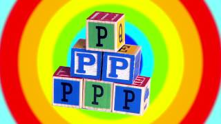 Learn English Letters! P Plus Alphabet Song!