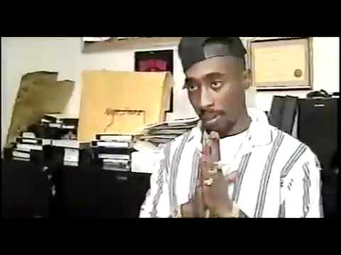 Tupac - Wanna Be A Thug [Traduction] (LQ) (unofficiel video)