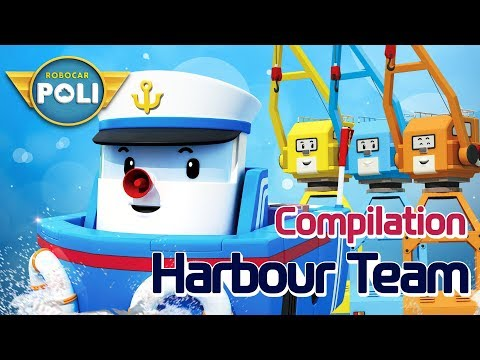 Broomstown's Harbour Team l Robocar POLI Special