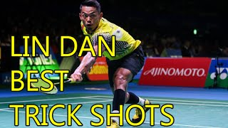 lin dan best trick shots badminton