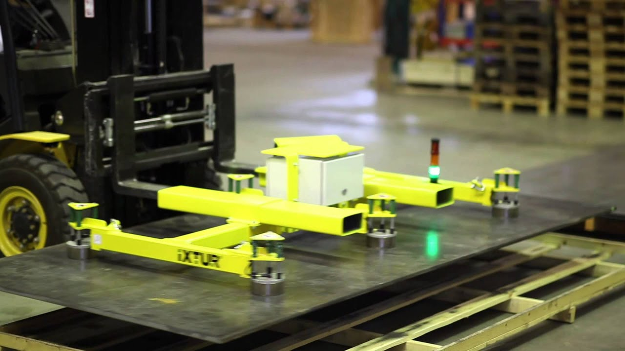 Automatic Plate Lifter PLE-700 - YouTube