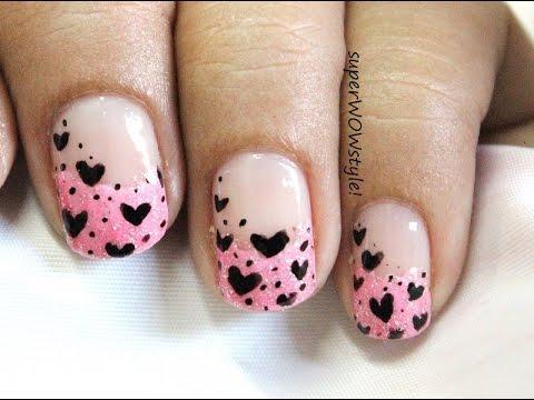 Flirty Tips - Cute Nail Designs Tutorial!