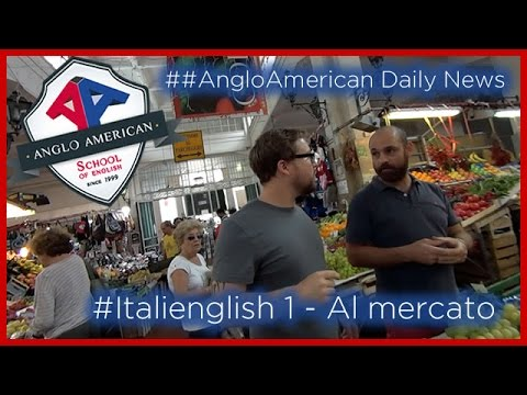 Italienglish - 1a puntata #AngloAmerican Daily News