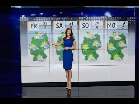 TV Moderatorin Susanne Schöne - Zusammenschnitt diverser Moderationen bei N24