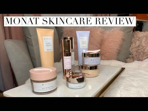 Monat Skincare Review All New Anti Aging Skincare Youtube