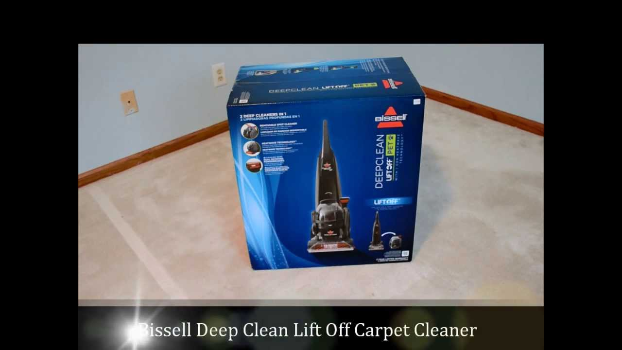 Bissell Lift Off Deep Carpet Cleaner Assembly Instructions