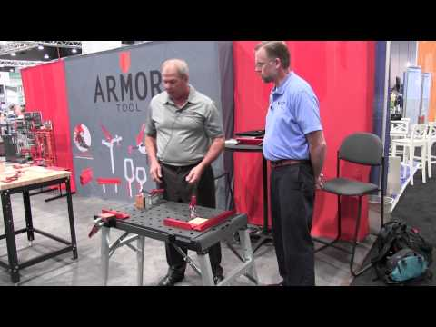 Armor Tool Peg Table Clamping System - AWFS 2015