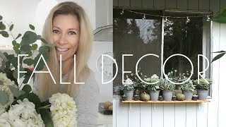 FALL PORCH DECOR WITH ME