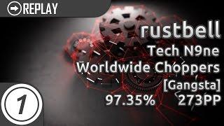 rustbell   Tech N9ne - Worldwide Choppers [Gangsta] 97.35% #1   1908x 273pp