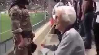 Watch: The 94-year-old Atletico Mineiro fan who still loves to berate local rivals Cruzeiro
