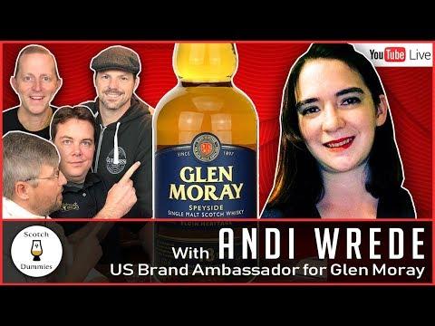 S4D Live: with Andi Wrede US Brand Ambassador for Glen Moray 12/14 10PM EST