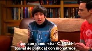 The Big Bang Theory Hablan de como ver Star Wars