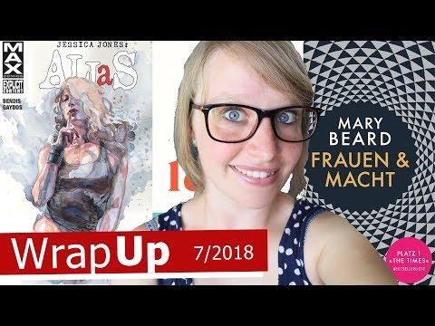 LESEMONAT | Gelesene Bücher im JULI 2018 | TheFallingAlice