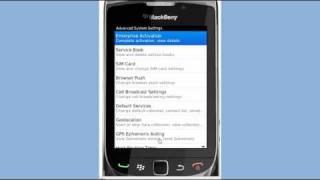Blackberry Torch Enterprise Activation