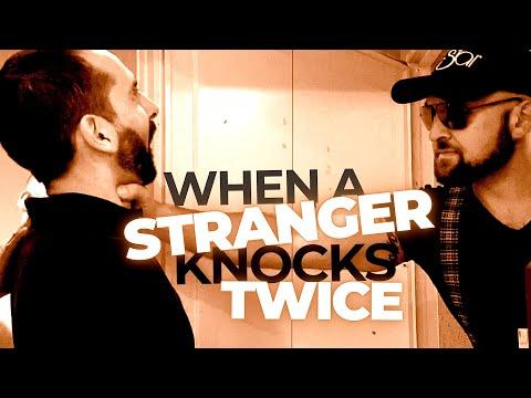 WHEN A STRANGER KNOCKS TWICE | Slapstick Comedy Film | Remastered