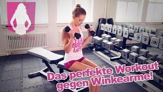 Die BESTEN Übungen gegen Winkearme - Training für Frauen | www.size-zero.de