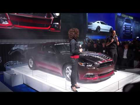 2015 king cobra mustang concept reveal sema 2014 - Ford Mustang King Cobra 2015