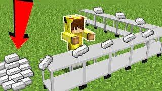DEMİR FABRİKASI YAPIYORUZ! - Minecraft