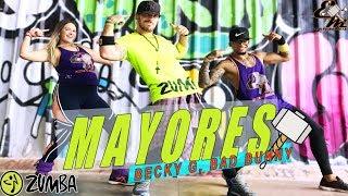 Baixar Mayores (Versión Zumba) - Becky G, Bad Bunny - Coreografía Equipe Marreta
