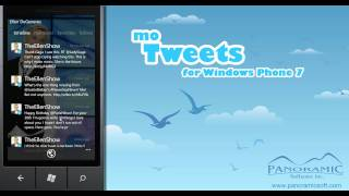 moTweets - The Premiere Twitter App for Windows Phone 7 - Panoramic Software Inc.