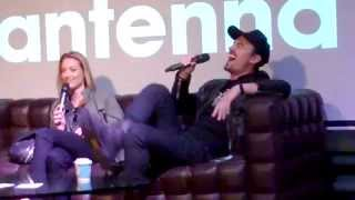 Paul Amos reading Doccubus fanfic to Zoie Palmer
