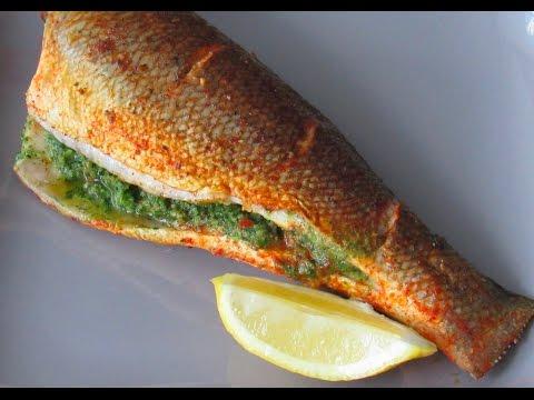 Stuffed Sea Bass | Indian Recipe | Pan Fried  Sea Bass