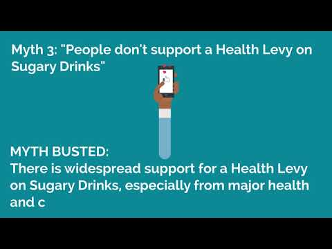 Busting Myths about Health Levies on Sugary Drinks