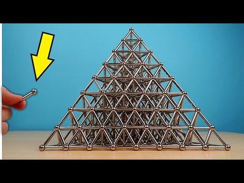 Собираю огромную Пирамиду из 1000 магнитов и шариков! 🔺 Alex Boyko