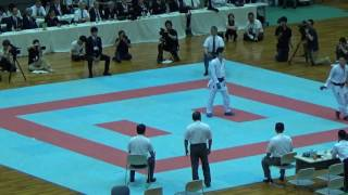 61th All-Japan university karate championship 2017 Male individual ...