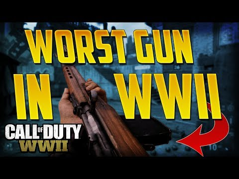 This Is The WORST Gun In CoD WWII! (SVT-40 Gameplay) Call of Duty WWII