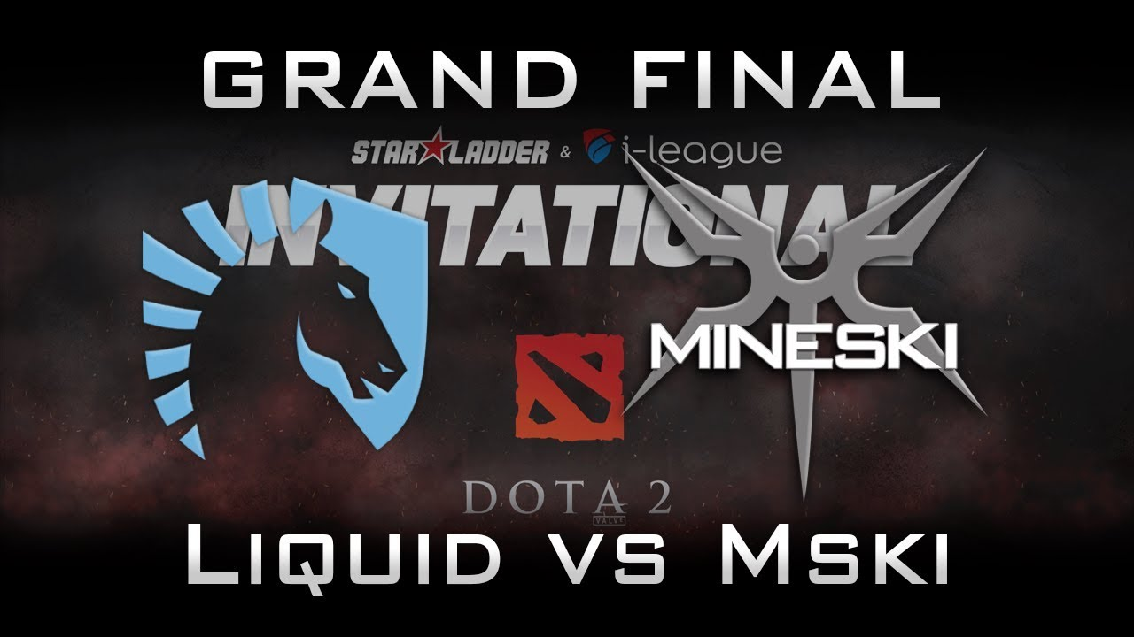 Liquid vs Mineski Grand Final Starladder 2017 Minor Highlights Dota 2 - Part 1