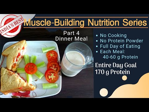 India's Best High-Protein Muscle Building Nutrition Series Dinner Meal