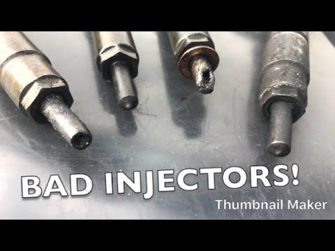 Fault Nissan Fuel Injectors