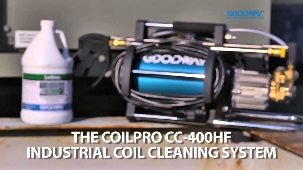 Goodway coilpro cc 400hf hiflo thick hvac coil cleaner with foaming goodway coilpro cc 400hf hiflo thick hvac coil cleaner with foaming coil cleaner sciox Gallery