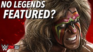 WWE 2K15 No Face Scan could mean past Legends won't make the game!