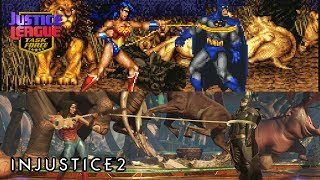 Justice League Task Force [SNES] + Injustice 2 [PS4] Similarities