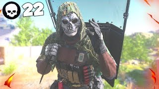 WORLD RECORD 22 KILL KNIFE ONLY GAMEPLAY!! (Modern Warfare Warzone)