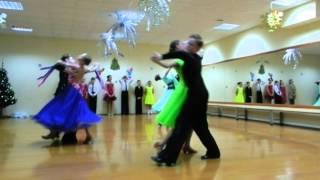 Открытый урок по бальным танцам(2 часть) ТСК Фантазия 30 декабря 2015